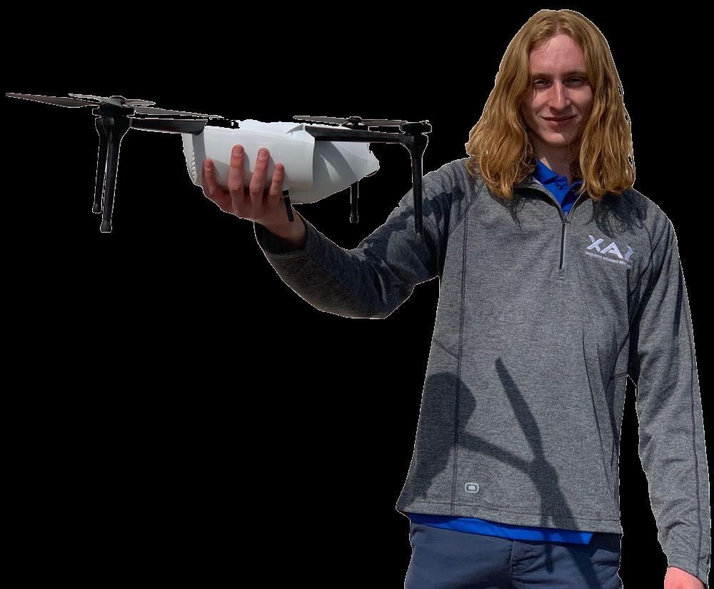 faa drone pilot Skyler wilborn
